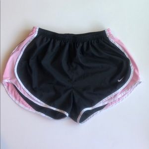 Nike Uptempo Running Shorts Pink Black